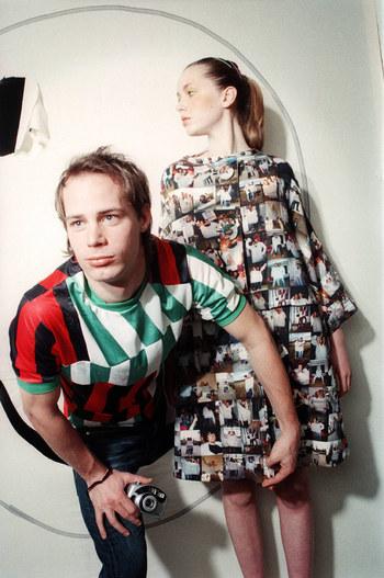 Antoine Peters and model